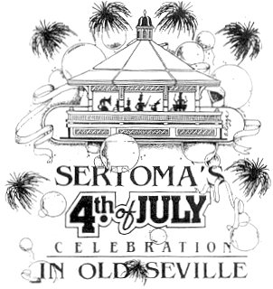 Sertoma's 4th of July Celebration in Old Seville Downtown Pensacola